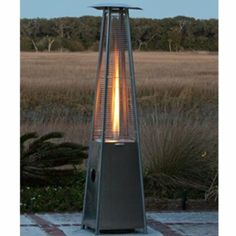 #BUY Fire Sense Stainless Steel Pyramid Flame Heater Review Order Now   Heater Style