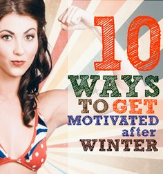 Motivation | 10 ways to get motivated after winter How To Get, Workout, Motivation, Winter, Fitness, Life, Winter Time, Work Outs, Daily Motivation