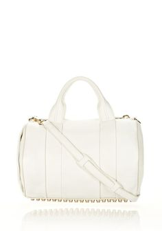ROCCO IN SOFT PEROXIDE WITH PALE GOLD - Shoulder Bags Women - Alexander Wang Online Store