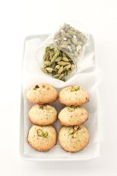 pistachio & cardamom biscotti