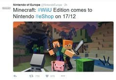 Minecraft WiiU Edition comes to Nintendo this month 12/17 - Read money saving articles, shopping tips, latest deals news and topics around frugal living.