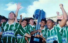 """Título do Palmeiras em 1994 teve """"chocolate"""" e provocação ao rival"""