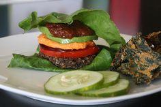 Two Ways With Raw Veggie Burgers