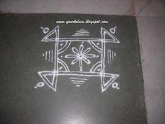 Indian Rangoli Designs, Rangoli Designs Latest, Simple Rangoli Designs Images, Rangoli Border Designs, Rangoli Patterns, Rangoli Ideas, Rangoli Designs With Dots, Beautiful Rangoli Designs, Easy Rangoli