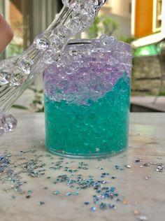 Metallic Slime, Glitter Slime, Glitter Toms, Glitter Dress, Glitter Gel, Diy Crafts Slime, Slime Craft, Cara Membuat Slime, Cotton Candy Slime