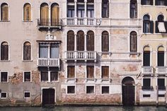 Textured windows in the canal in #venice. I enjoy looking through older photos many times I discard shots and pick them back up months later. Fresh eyes and a bit of time make for a different perspective.