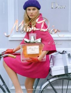 Miss Dior Chérie Eau de Parfum by Christian Dior with Maryna Linchuk (2009).