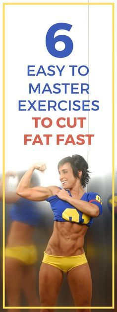 6 simple full body exercises to cut fat fast.