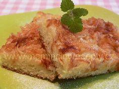 Hrnková buchta s jablky – Maminčiny recepty Czech Recipes, Quiche, French Toast, Food And Drink, Sweets, Apple, Baking, Breakfast, Czech Food