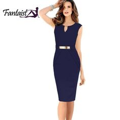 Fashion Women 2014 Gown Empire Waist Knee-Length Sequined Elegant Casual  Bodycon Pencil Evening Party 54d3acc9ff5a
