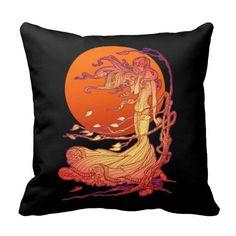 Halloween Wind Throw Pillow  #TheEnchantedThingamajig