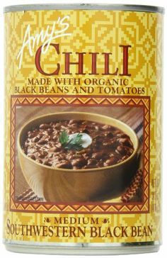 Amy's Southwestern Black Bean Chili