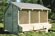 Open air poultry houses ... site has other great building ideas