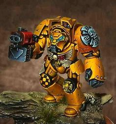 Awesome, Crimson Fists, Space Marines, Terminator Armor, Warhammer 40,000