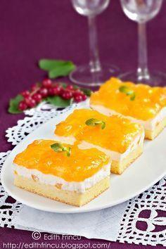 Peach jam and yogurt cake Romanian Desserts, Romanian Food, Peach Jam, Good Food, Yummy Food, Yogurt Cake, Dessert Bread, Savoury Cake, Something Sweet