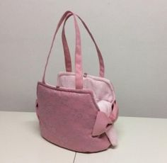 Eh Gia I'm a Lady Bag Pink Hondendraagtas