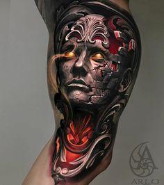 Life Tattoos, Cool Tattoos, Amazing Tattoos, Star Wars Sith, Star Wars Tattoo, Ink Master, Kings Crown, Neo Traditional Tattoo, Inked Girls