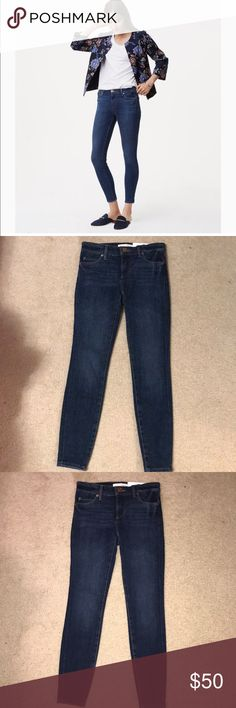 NWT! Loft jeans NWT! By the brand Loft! Size 00 petite! These are the famous performance denim leggings that loft is very popular for! The comfort of leggings with the fit and style of jeans! Brand new! Dark wash! LOFT Jeans