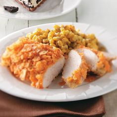 Chip-Crusted Chicken