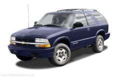 2001 chevrolet blazer service repair manual software