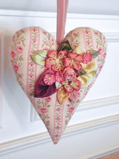 Floral Heart 2 by LaurieMade on Etsy, $35.00