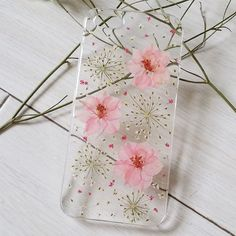 Pink Flower Phone Case For IPhone 6 Floral IPhone 6 Plus Case