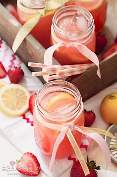 20+ Kid Friendly Lemonade Recipes!  via createcraftlove.com