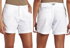 MISSING 1 SNAP Columbia Women/'s Coral Point II Shorts Mint Green Size XL
