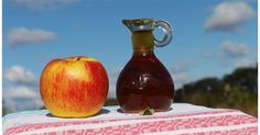 L'aceto di mele depura e disinfiamma