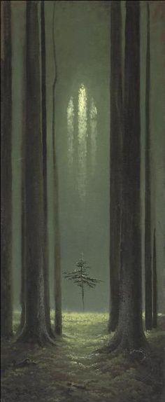 """Konstantin Vasiliev """"Gótico Forestal"""""""