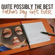 Father's Day Gift.  This site also has lots of great gift ideas.  Including some things I might consider for Dad's 60th.