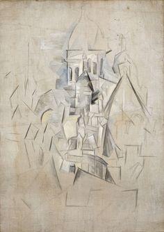 Pablo Picasso, Le Sacré-Coeur, 1909-10, Musée Picasso, Paris.