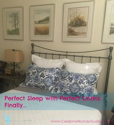 A Perfect Sleep With Perfect Linens #MyWOWgift