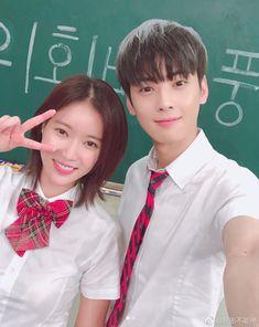I like the drama first then after reading the webtoon I come to like them both. Korean Actresses, Korean Actors, Actors & Actresses, Drama Korea, Kpop Couples, Cute Couples, Korean Couple, Korean Girl, Korean Drama Romance