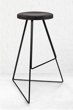 The Coleman Stool Concrete Furniture, Bench Furniture, Metal Furniture, Cool Furniture, Industrial Design Furniture, Furniture Design, Dwell On Design, Urban Design, Dressing Table Design