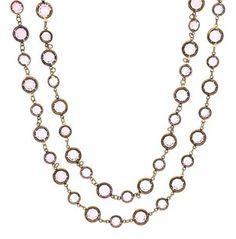 Chanel Vintage Chanel Pink Gripoix Sautoir Necklace