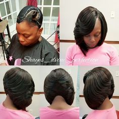 """PRONTO QUICK WEAVE LAYERED BOB ARLINGTON TX FOR PRICES AND AVAILABILITY CLICK LINK: http://shayesdvineperfection.com (click """"Book Me"""", create a profile then you'll be able to see prices, services and availability.)"""