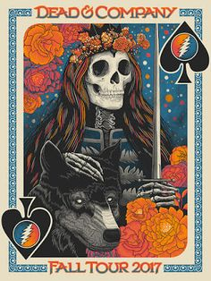 John Vogl Dead and Company Tour Posters Release Tour Posters, Band Posters, Cover Design, Rock Music History, Musik Illustration, Grateful Dead Poster, Phil Lesh And Friends, Vintage Music Posters, Dead And Company
