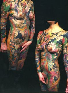 Yellowblaze tattoo studio by Shige - full body suit