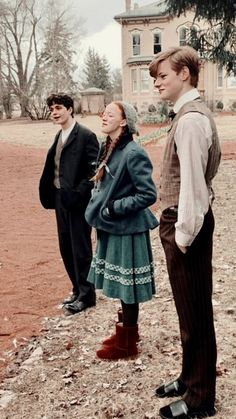 Anne with an E cast, behind the scenes; Cole - Cory Anne with an E cast, behind the scenes; Gilbert Blythe, Anne Shirley, Gilbert And Anne, Amybeth Mcnulty, Annette Bening, Anne White, Anne With An E, Cuthbert, Film Serie