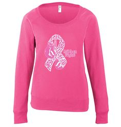 Leopard Ladies Lightweight Slouch Pullover