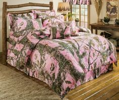 #NEW Realtree Bright Pink Camo Comforter Set #Realtreecamo | Camo Home Decor  | Pinterest | Pink Camo, Bright Pink And Camo
