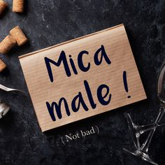Frase della settimana / Phrase of the week: Mica male! (Not bad!) To find out more about this phrase and hear the pronunciation, visit our website! #italian #italiano #italianlanguage #italianlessons Italian Phrases, Italian Words, Italian Quotes, Italian Lessons, French Lessons, Spanish Lessons, Spanish Language Learning, Learn A New Language, Teaching Spanish