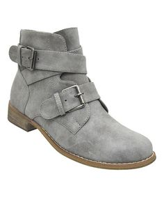 Look what I found on #zulily! Gray Catalina Ankle Boot by Yoki #zulilyfinds