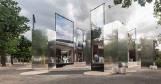 PPAG extiende restaurante Steirereck en Viena parque con fachadas de espejo