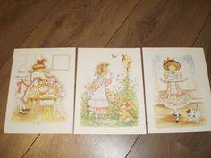 Hollie Hobbie set of 3  Vintage children's book by PurePopulus, $10.00
