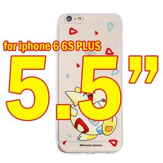 Phone Case for iPhone 6 6S Plus Mobile Game Pokemons Go Poke Ball Cartoon Painting Cute soft tpu Cover for iPhone 6 6s plus