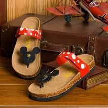 Sexy bamboo shoes, cute high heels shoes, and exotic green shoes, any kind of hot selling casual women sandals cartoon mickey mouse slippers cork flats summer shoes women flip flops can make your summer much more beautiful, and find for more! Style Disney, Cute Disney, Disney Mickey, Mickey Mouse Slippers, Mickey Shoes, Womens Summer Shoes, Cheap Womens Sandals, Women Sandals, Shoes Women