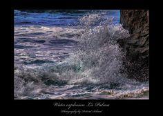 Water explosion - Diese Aufnahme ist auch auf La Palma entstanden. Die Farben haben mich hier besonders fasziniert. Waves, Outdoor, Canary Islands, Colors, Outdoors, Ocean Waves, Outdoor Games, The Great Outdoors, Beach Waves
