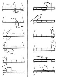 fuckyeahbookarts:    Book Binding DIY: Four Hole Binding